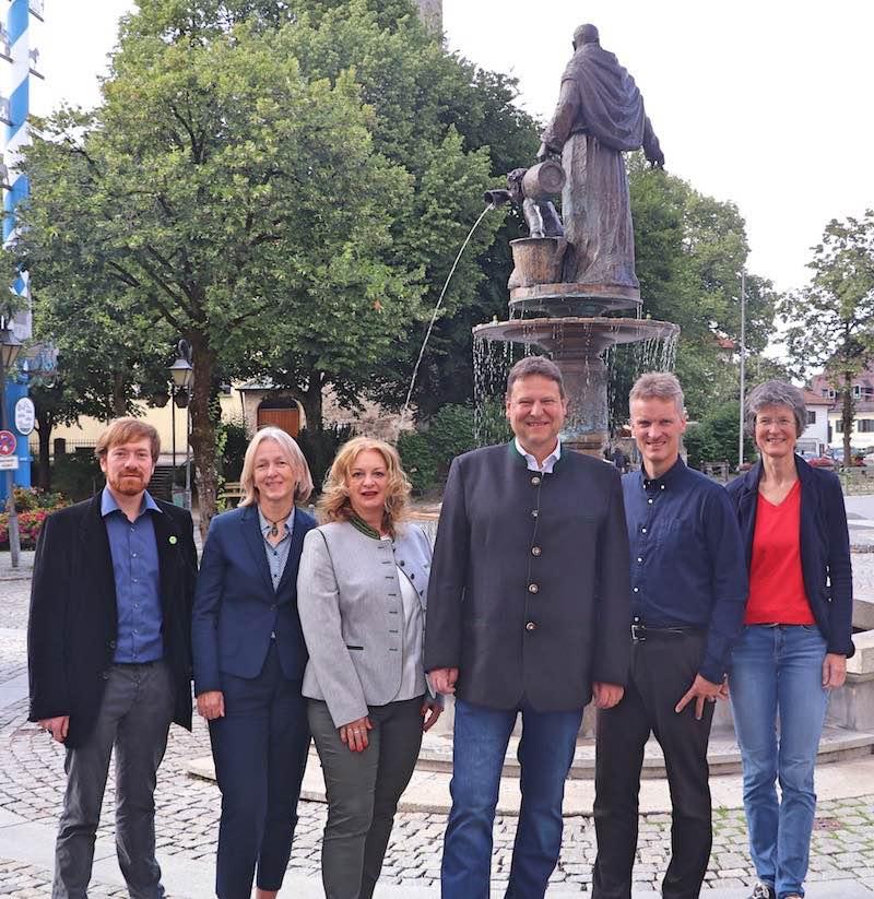 Ein grüner Bürgermeister für Holzkirchen: Robert Wiechmann