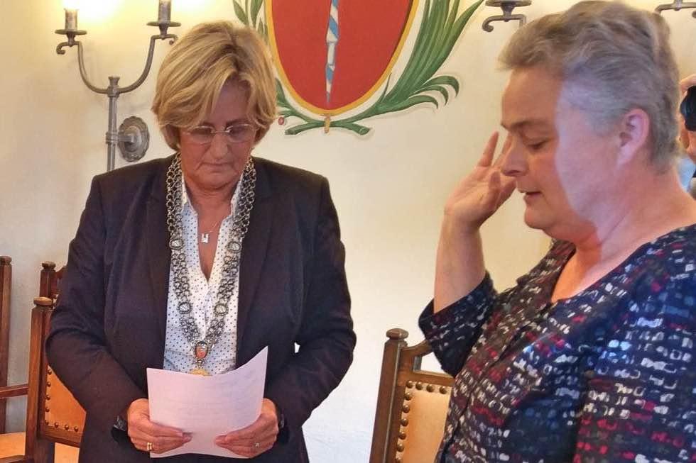 Neue Stadträtin: Kick van Walbeek
