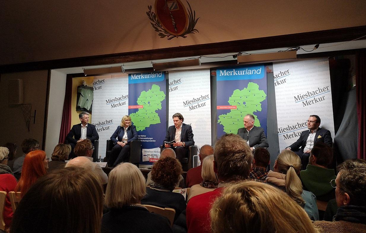 Bürgermeisterwahl: Podiumsdiskussion in Miesbach