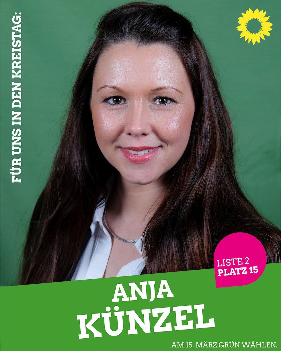 Für uns in den Kreistag: Anja Künzel