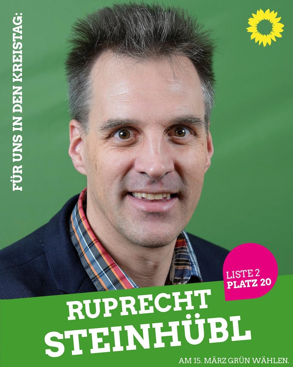 Für uns in den Kreistag: Ruprecht Steinhübl