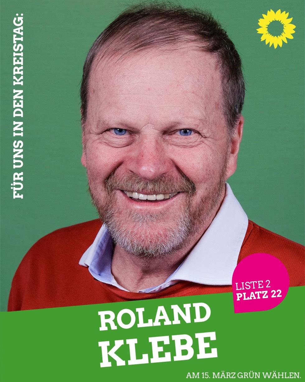 Für uns in den Kreistag: Roland Klebe