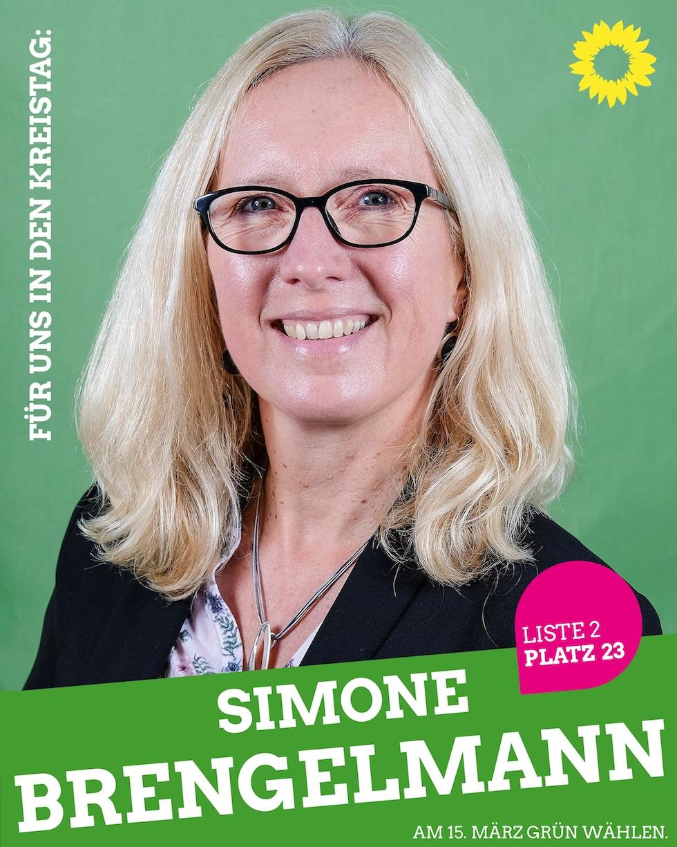 Für uns in den Kreistag: Simone Brengelmann