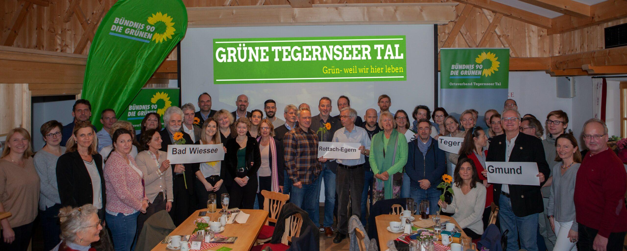 """Grüne präsentieren ihr """"Team Tegernseer Tal"""" und talweites Wahlprogramm"""