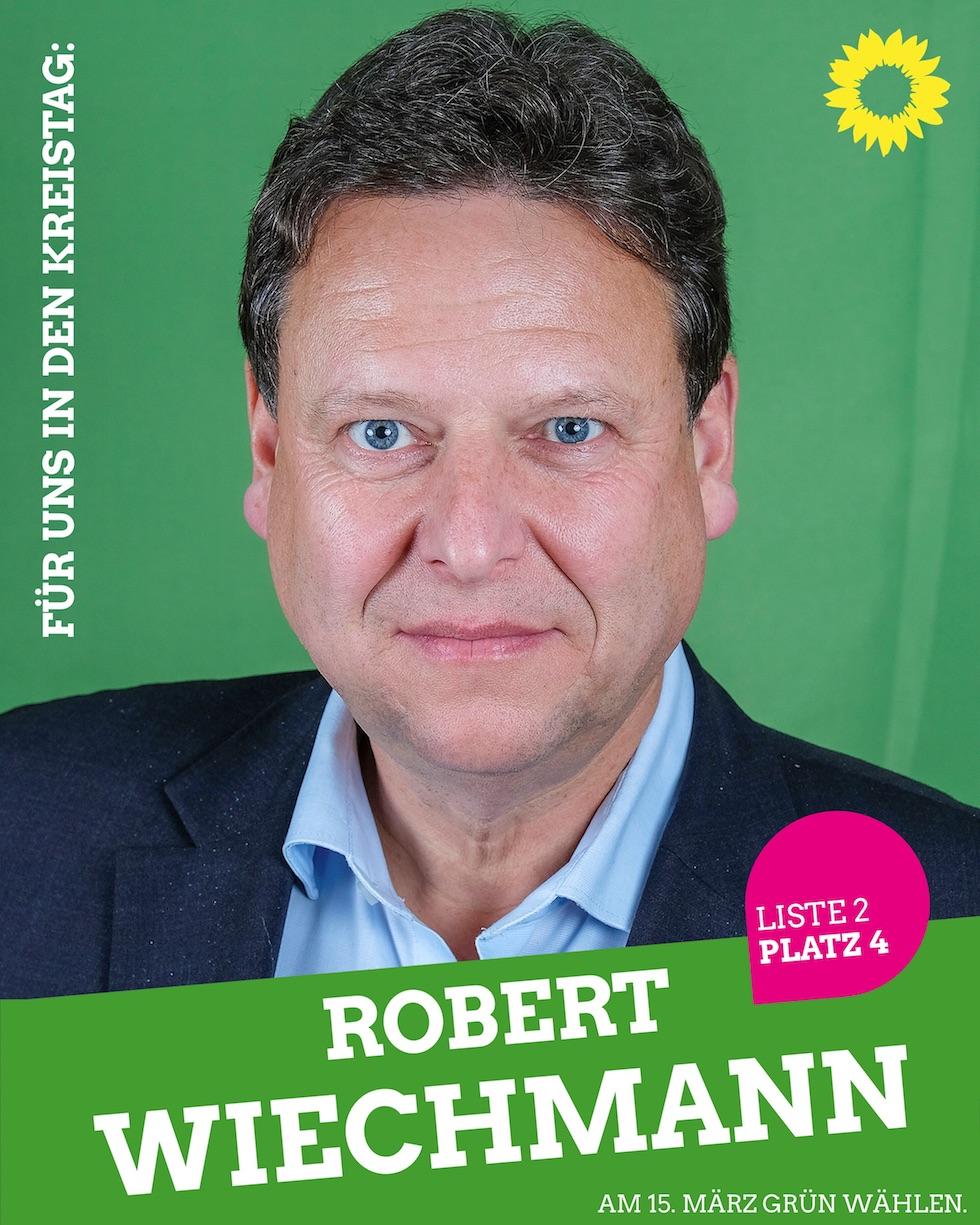 Für uns in den Kreistag: Robert Wiechmann