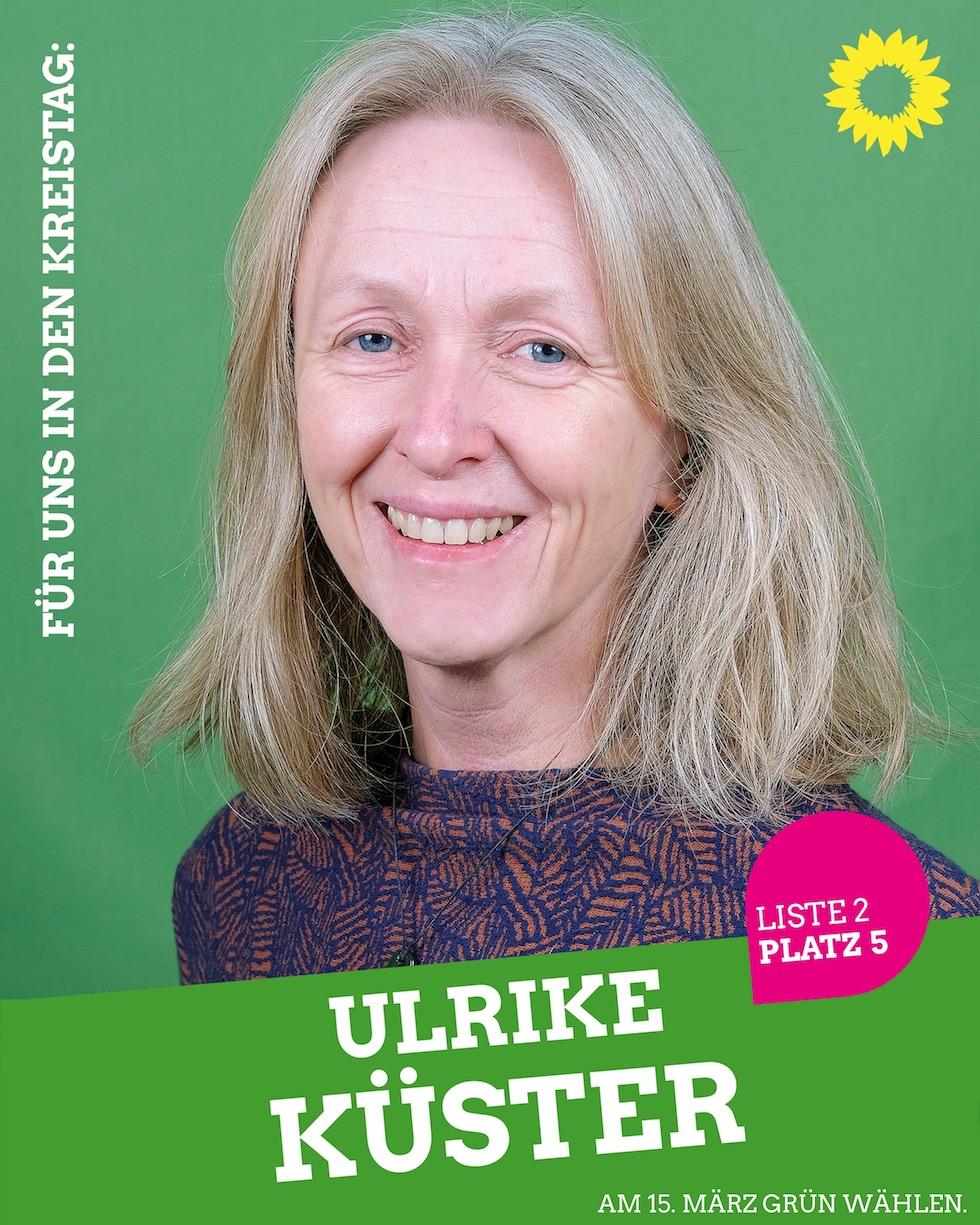 Für uns in den Kreistag: Ulrike Küster