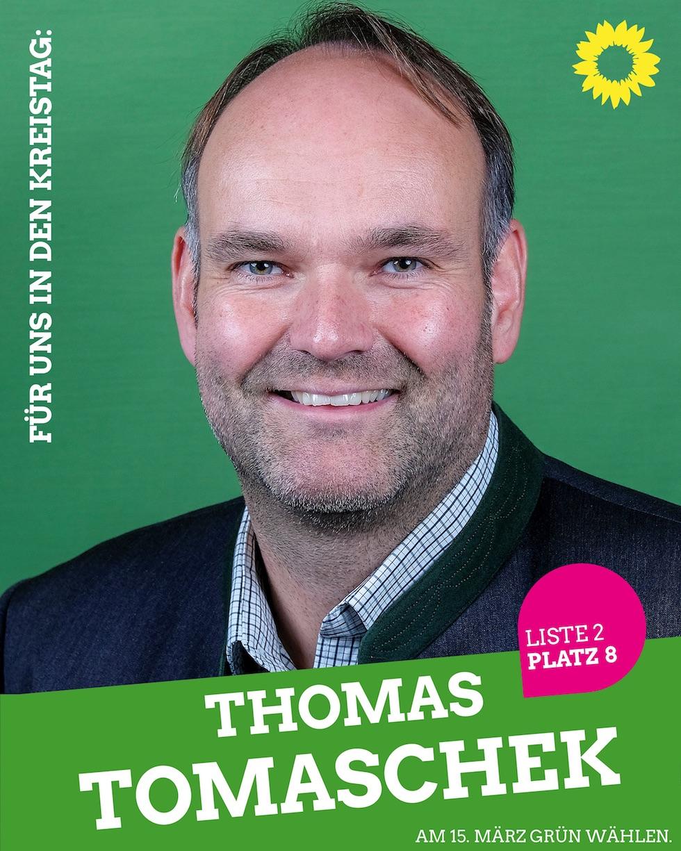 Für uns in den Kreistag: Thomas Tomaschek