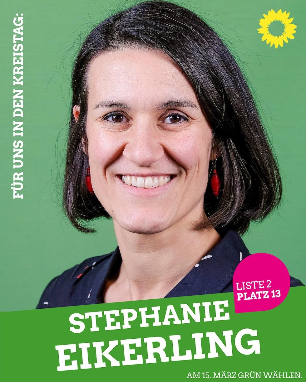 Für uns in den Kreistag: Stephanie Eikerling