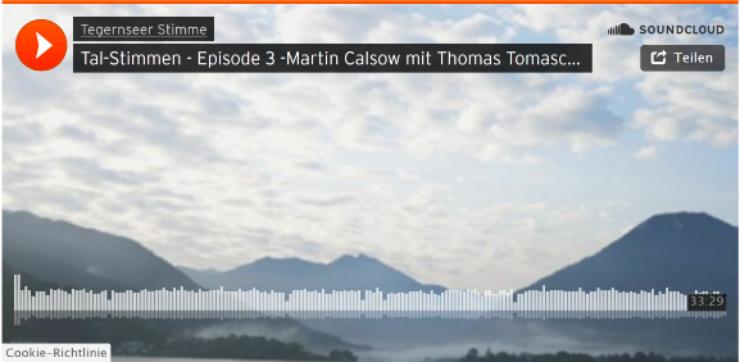 Podcast mit Thomas Tomaschek