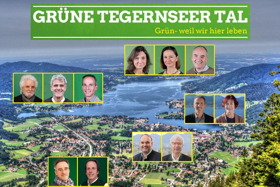 Grüne in allen Talgemeinden –  Zahl der Grünen Mandatsträger am Tegernsee vervierfacht!