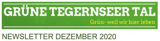 Neuer Newsletter Grüne Tegernseer Tal
