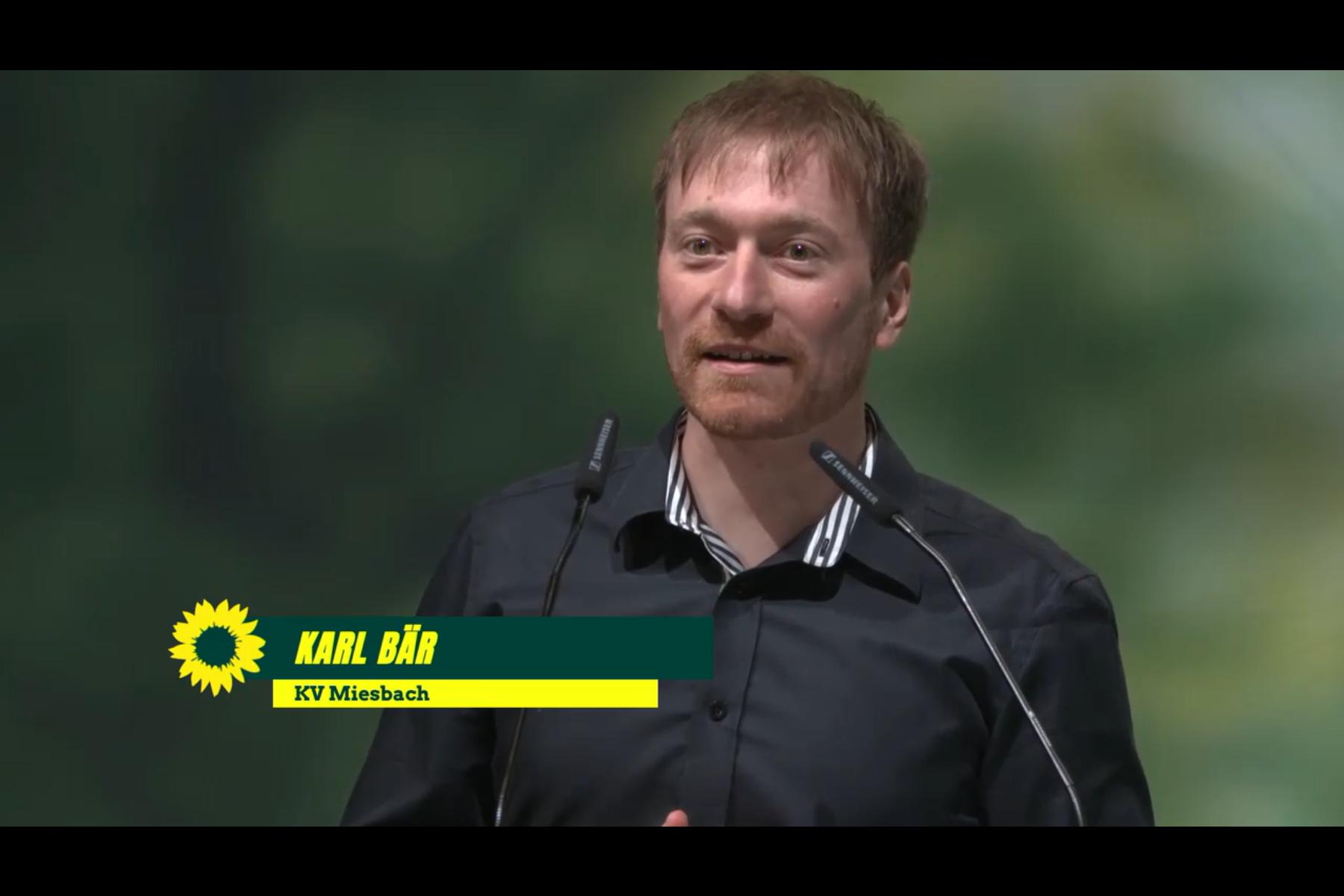 Bayerische Landesliste für den Bundestag: Karl Bär auf dem 12. Platz [mit Video]
