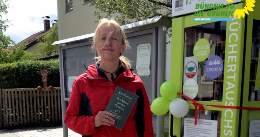 Büchertausch in Holzkirchen