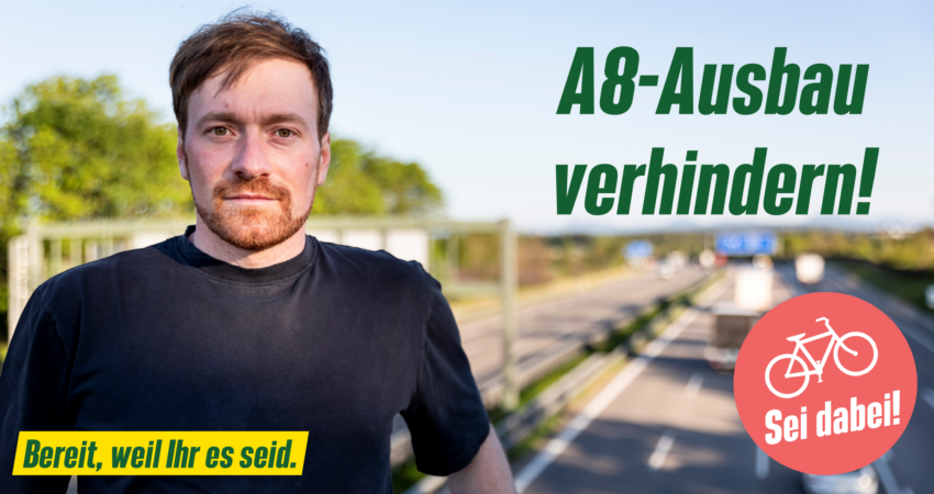 A8-Ausbau verhindern: Gemeinsame Radl-Sternfahrt in Miesbach, Rosenheim, Traunstein und Berchtesgadener Land