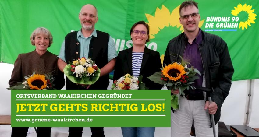 Grüner Ortsverband gegründet