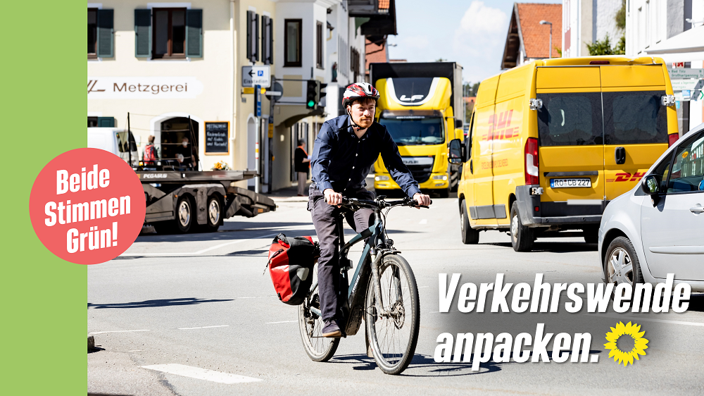Verkehrswende anpacken! Wahlkampfspot unseres Bundestagskandidaten Karl Bär